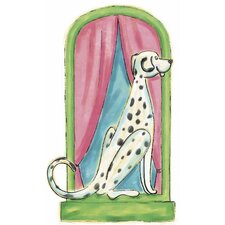 Dalmation Panel Wall Decal