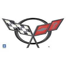 <strong>4 Walls</strong> Corvette Logo C5 Wall Decal