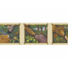 <strong>4 Walls</strong> Jungle Wallpaper Border