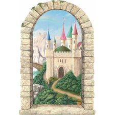 <strong>4 Walls</strong> Castle Window Main Gate Wall Decal