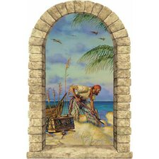 Pirate Banking Window Wall Decal