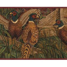Lodge Décor Pheasant Border