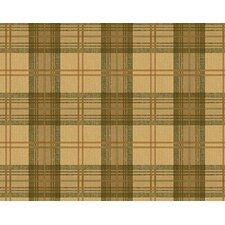 Lodge Décor Classic Plaid Wallpaper