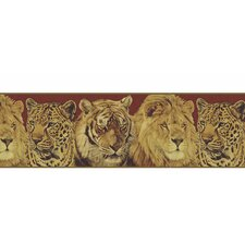 <strong>4 Walls</strong> Lodge Décor Portraits Wildlife Border Wallpaper