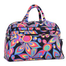"Wild Flower 21"" Gym Duffel"