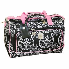 "<strong>Jenni Chan</strong> Damask 12"" City Travel Duffel"