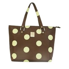 Dots Laptop Zipper Tote Bag