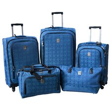 Links 360 Quattro 5 Piece Luggage Set