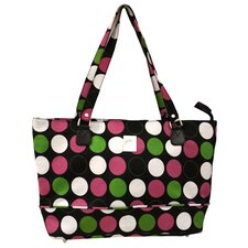 Multi Dots Computer Tote Bag