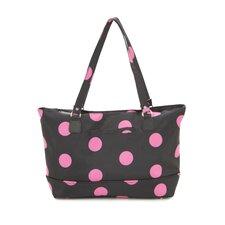 Dots Laptop Zipper Tote Bag