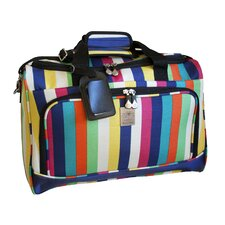 "<strong>Jenni Chan</strong> Multi Stripes City 18"" Travel Duffel"