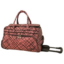 "<strong>Jenni Chan</strong> Brush Strokes 20"" 2 Wheeled Carry-On Duffel"