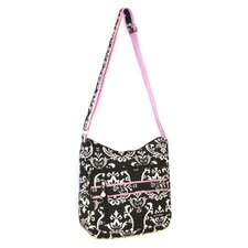 Damask Soft Cross-Body