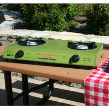 Sportsman Camping Dual Gas Stove