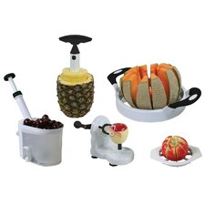 AmeriHome 5 Piece Fruit and Vegetable Prep Set