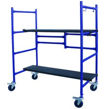 4' H x 4' W x 1' D Pro-Series Roll and Fold Mini Scaffolding
