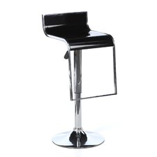 AmeriHome Adjustable Height Swivel Barstool I (Set of 2)
