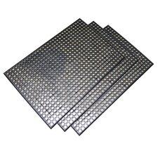 Buffalo Copr Foot Industrial Rubber Floor Mat (Set of 3)