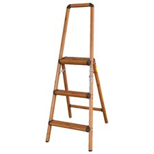 AmeriHome 3' Lightweight Aluminum Step Ladder