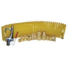 15 Piece Pneumatic Accessories Set