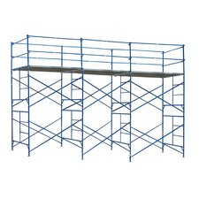 10' H x 21' W x 5' D Exterior Tower Scaffolding System