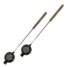Cast Iron Round Pie Iron (Set of 2)
