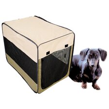 <strong>Buffalo Tools</strong> Soft Sided Steel and Cloth Portable Yard Kennel