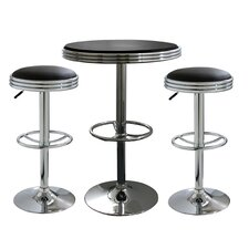 <strong>Buffalo Tools</strong> 3 Piece Soda Fountain Style Bar Set
