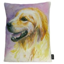 <strong>lava</strong> Lava Retriever Watercolor Feather Filled Pillow