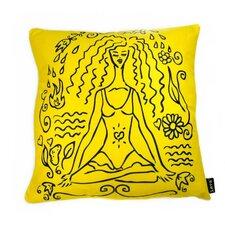 Lava Yoga Girl Pillow
