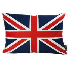 <strong>lava</strong> British Flag Feather Filled Pillow