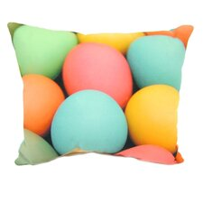Colored Eggs Pillow