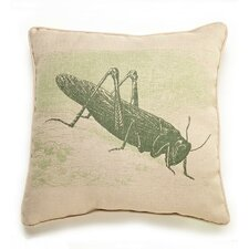 Lava Grasshopper Etching Pillow