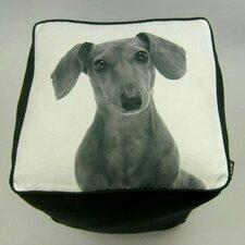 Daschshund Cube Ottoman
