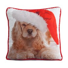 Holiday Cocker Pillow