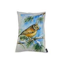 Lava Bird Pine Pillow