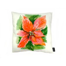 Lava Poinsettia Pillow
