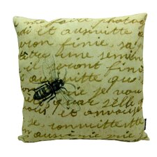 <strong>lava</strong> Bee on Note Polyester Pillow