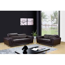 Dela Sofa and Loveseat Set