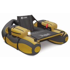 Fish Togiak Float Tube in Grey and Gold