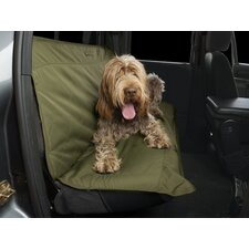 Heritage Quick Fit Auto Bench Seat Cover in Loden and Chestnut