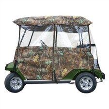 Deluxe Camo Golf Cart Enclosure