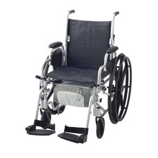 Zippidy Wheelchair Under Seat Organizer in Pearl Grey and Pewter