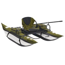 Bozeman Back Packable Pontoon Boat in Sage