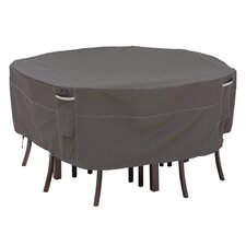<strong>Classic Accessories</strong> Ravenna Round Patio Table and Chair Set Cover