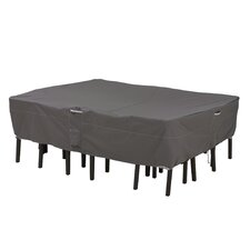 Ravenna Rectangular / Oval Patio Table and Chair Set Cover