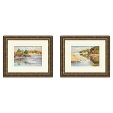 Landscape Annisquam Cover 2 Piece Framed Painting Print Set