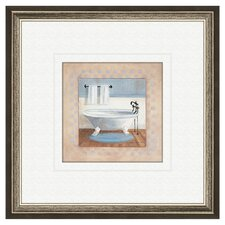 Bath Country B Framed Painting Print