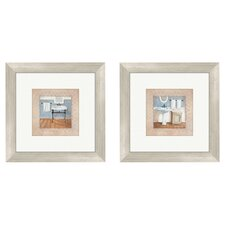 Bath Country 2 Piece Framed Painting Print Set