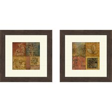 <strong>Pro Tour Memorabilia</strong> Organic Montage Framed Art (Set of 2)